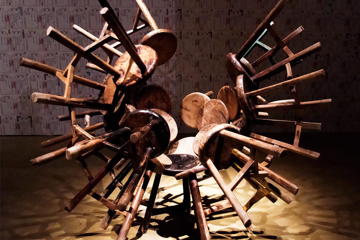 Экспозиция в Музее искусства