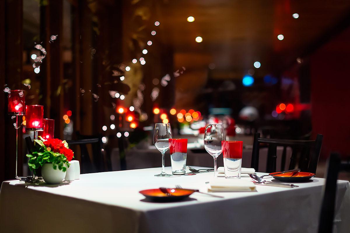 Ресторан перед открытием