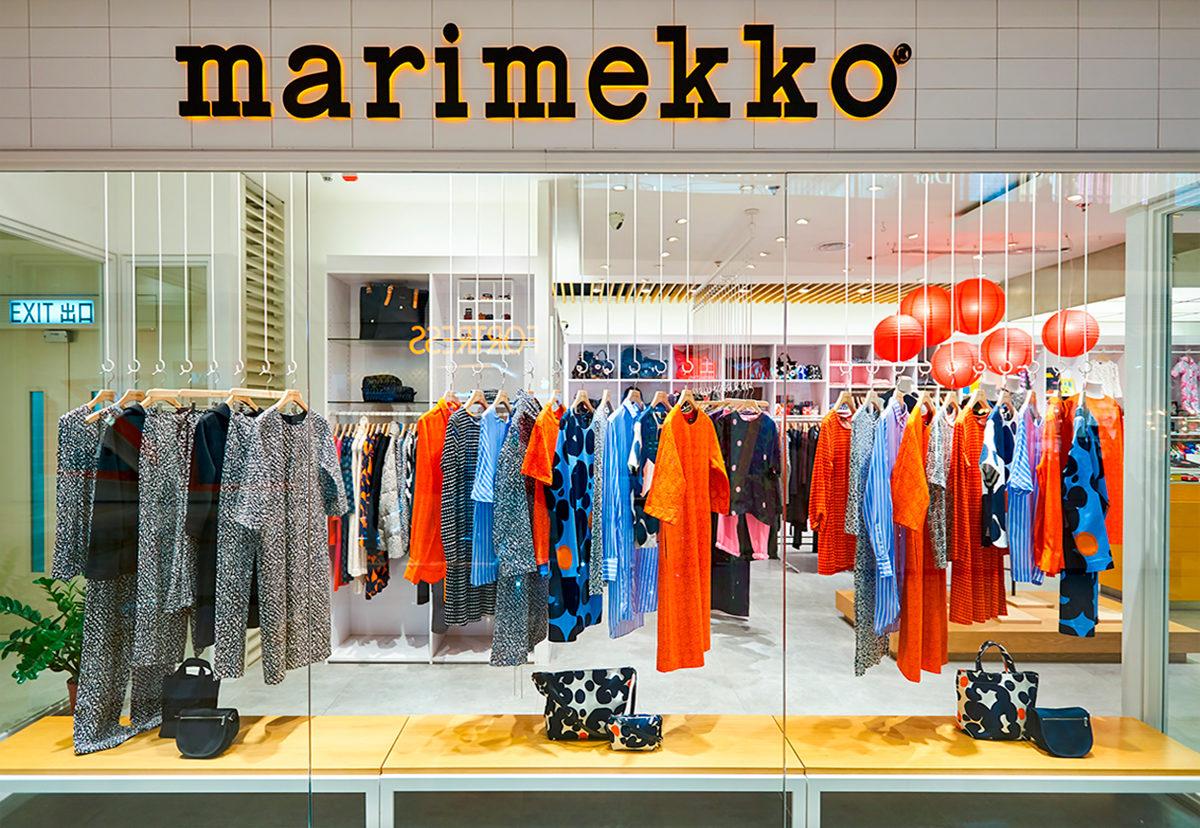 Линейка одежды Marimekko