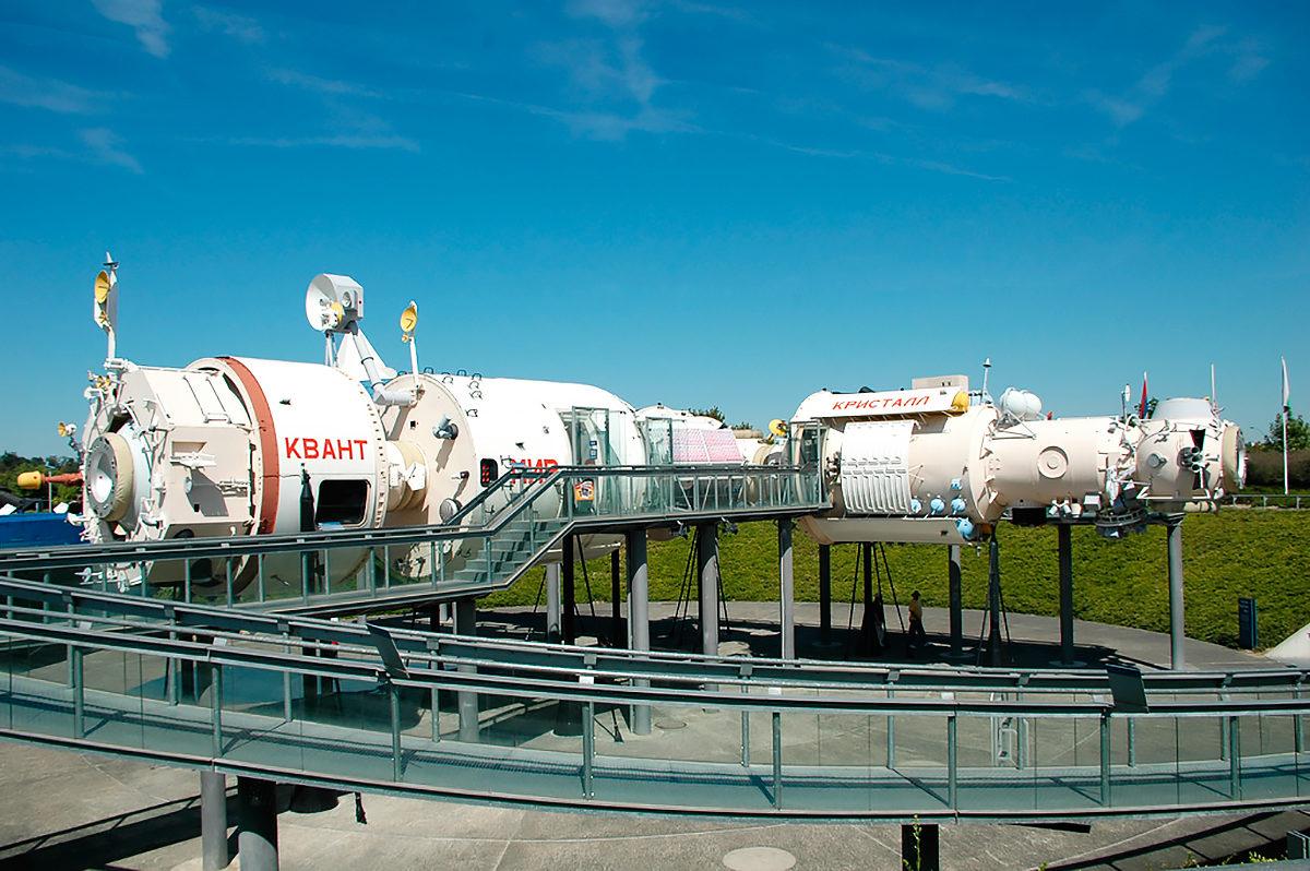 Союз в Космическом городке Тулузы