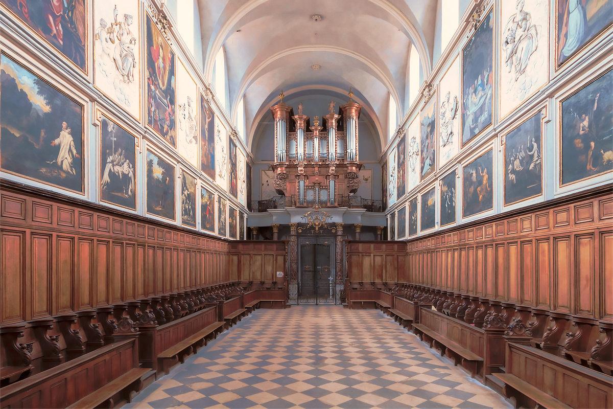 Картезианская церковь святого Петра, интерьер
