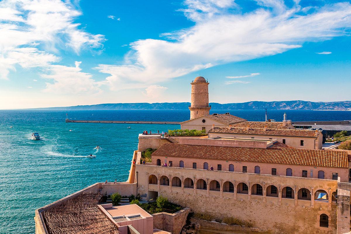 Вид со стороны Форта, Марсель