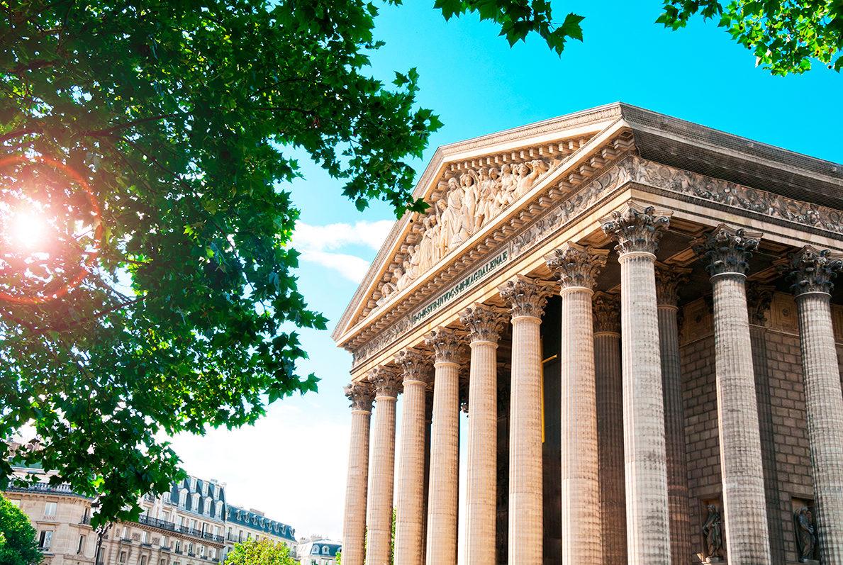 Церковь Сент-Мадлен, Париж