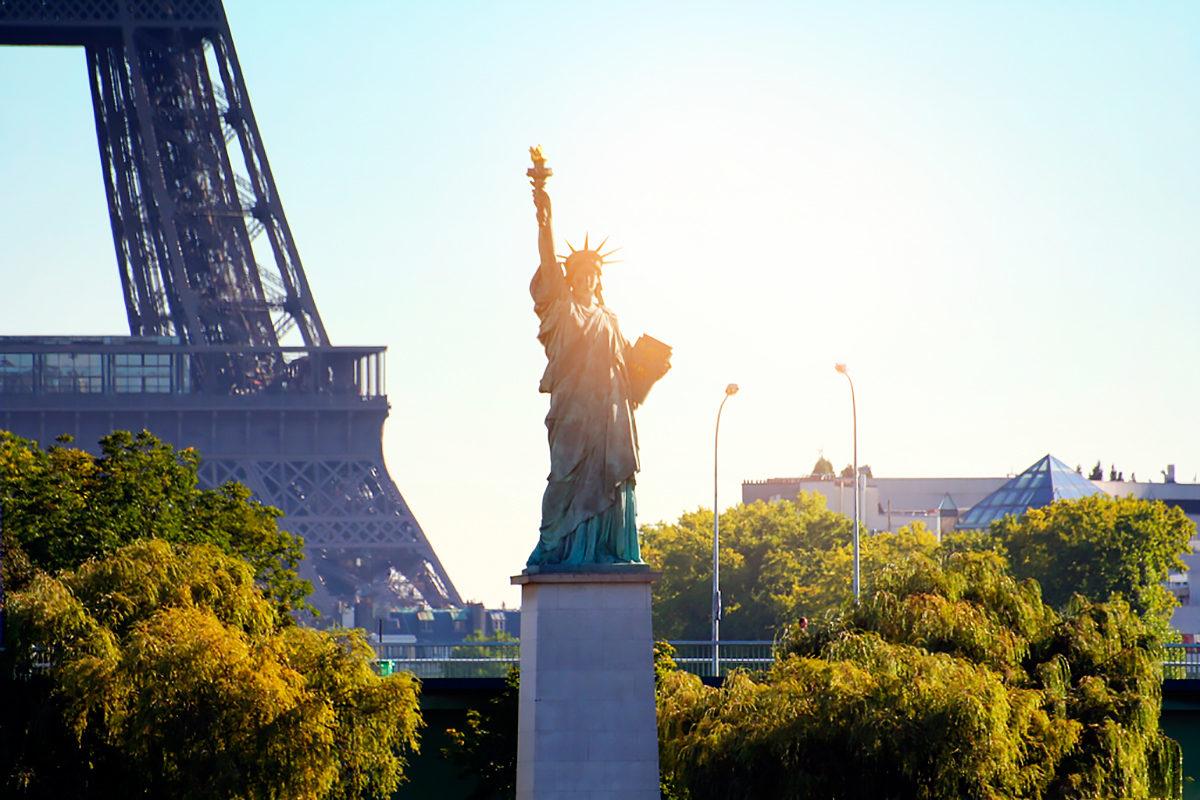 Вид на Статую Свободы