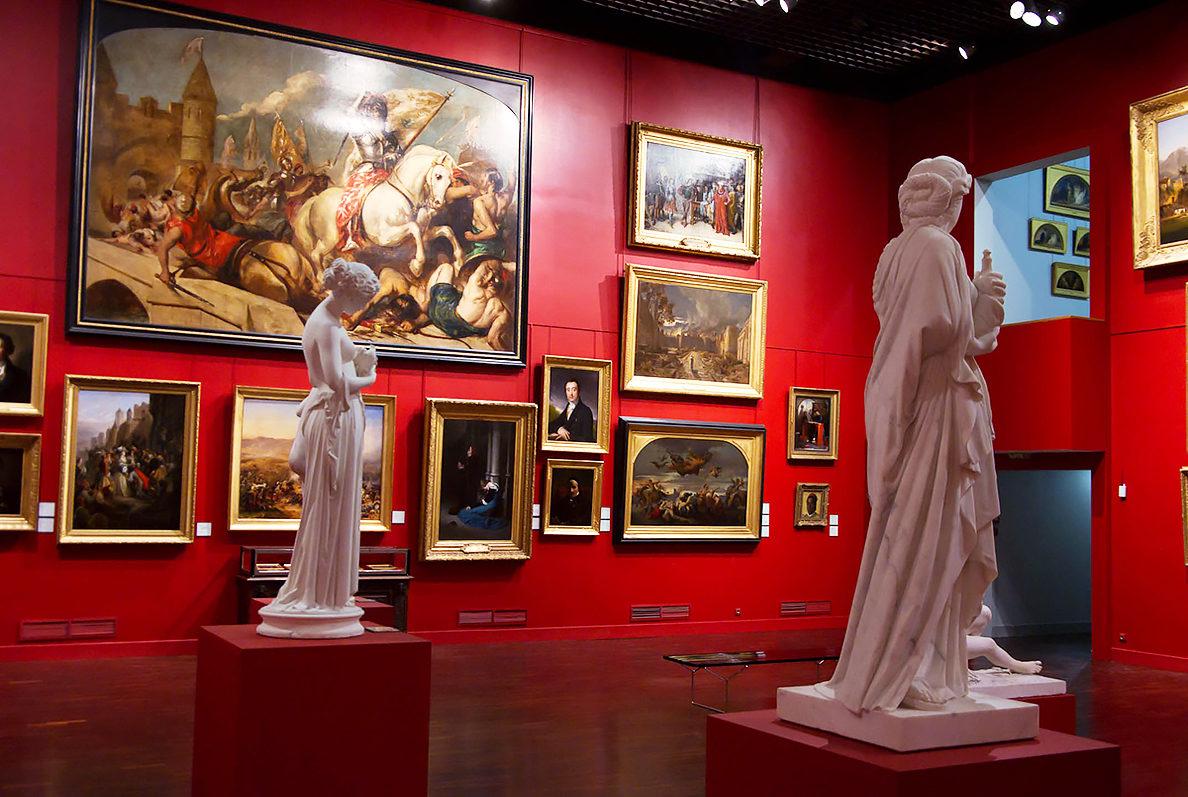 В Музее изящных искусств, Орлеан