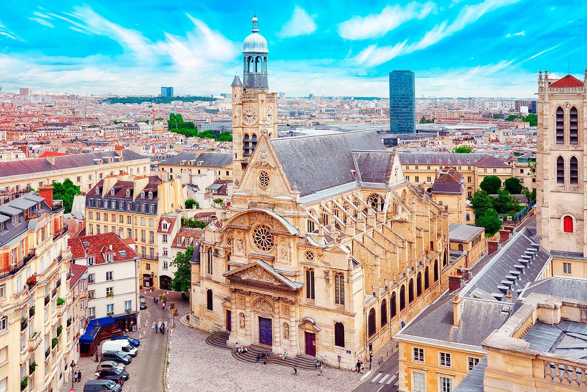 Церковь Сент-Этьен-дю-Мон, Париж
