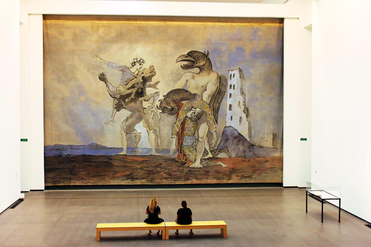 Созерцание, Музей современного искусства