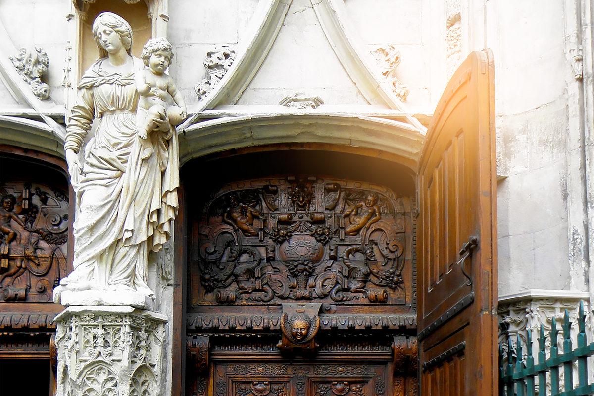 Двери Базилики Святого Петра, Авиньон