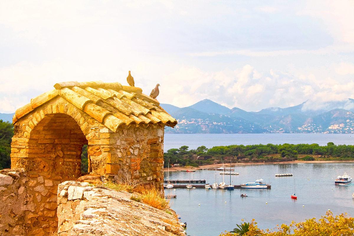 Королевский форт, вид на окрестность