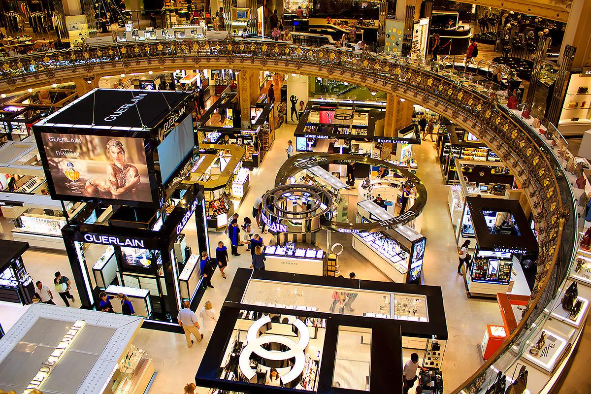 Галерея Лафайет - одно из лучших мест для шопинга
