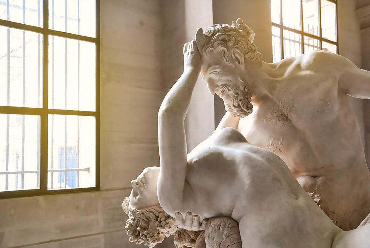 Одна из скульптур в Музее изящных искусств, Лилль