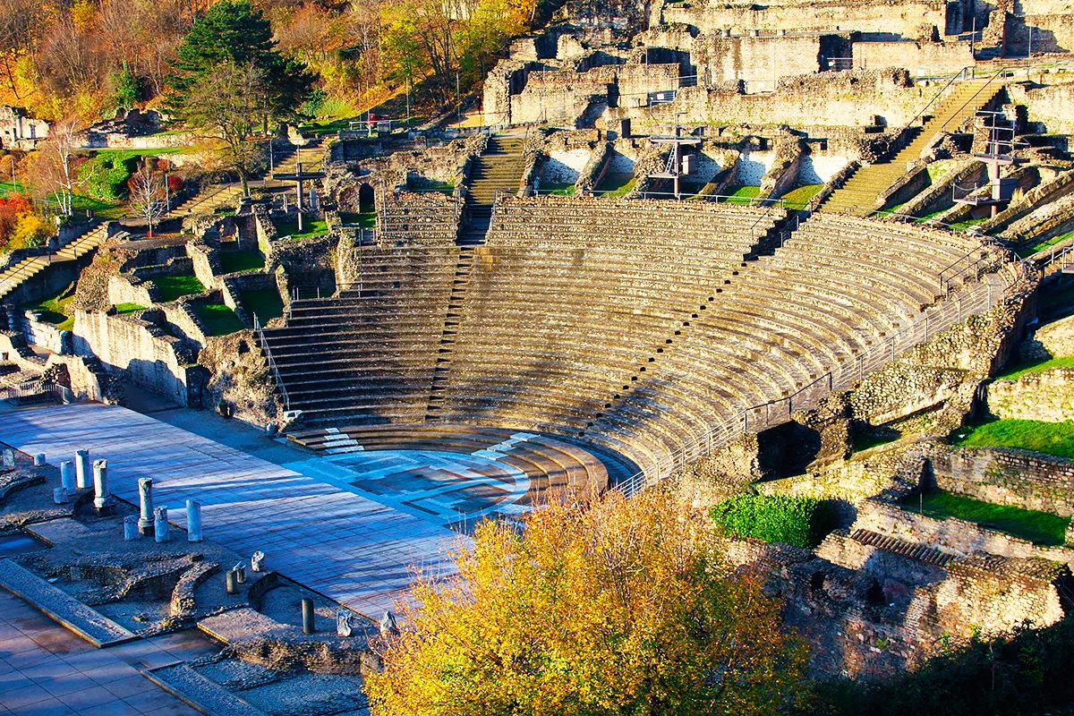 Античный театр Фурвьер, общий вид