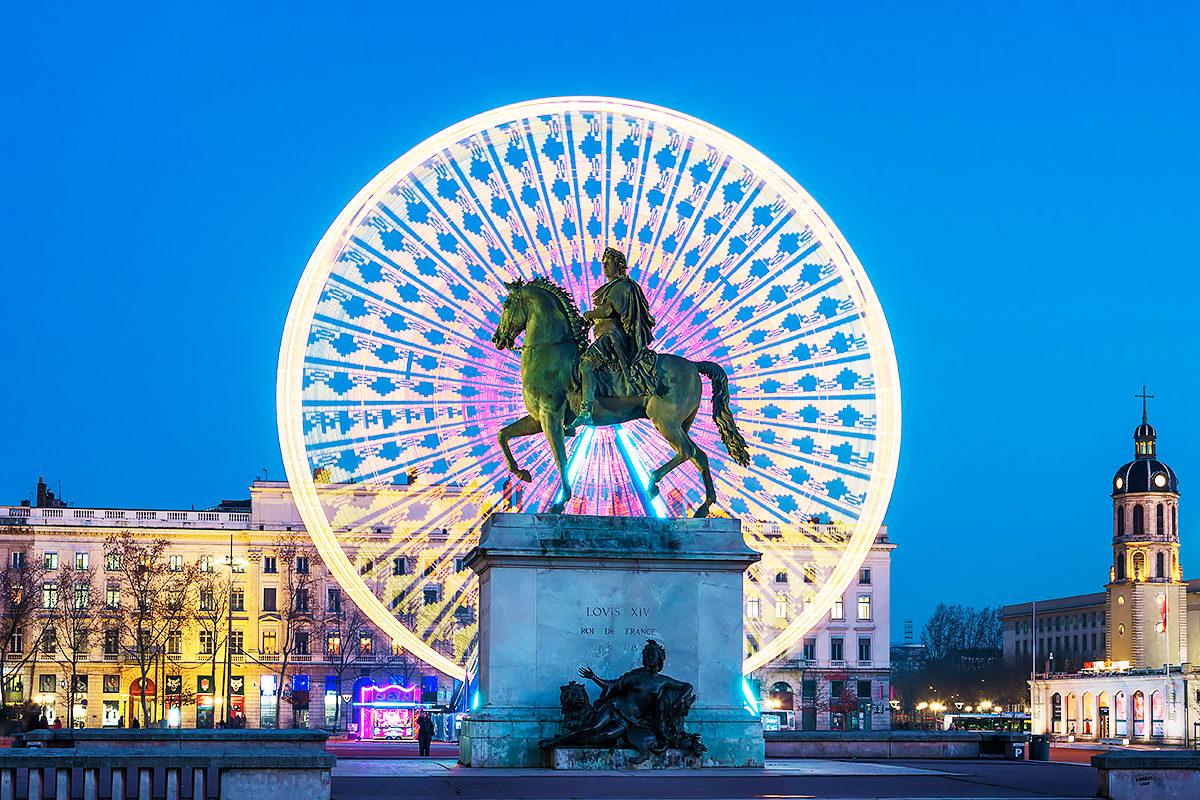 Статуя Людовика XIV, Лион