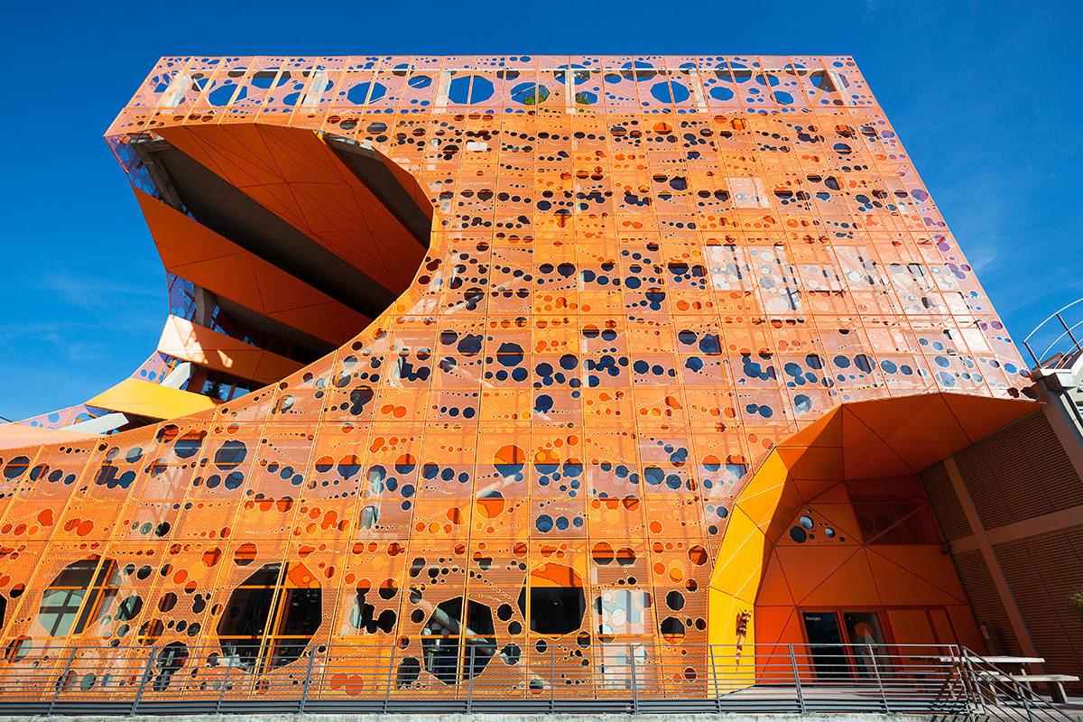 Оранжевый куб, Лион