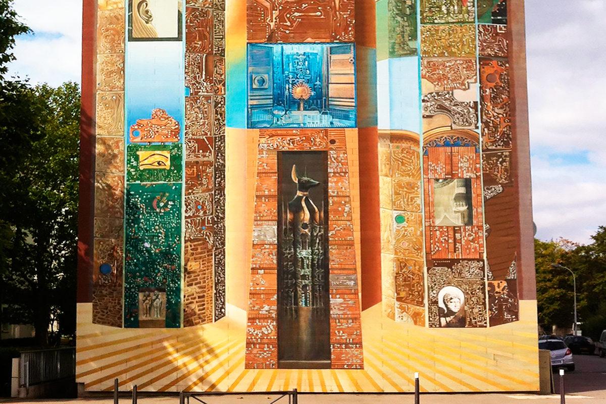 Фреска египетского художника