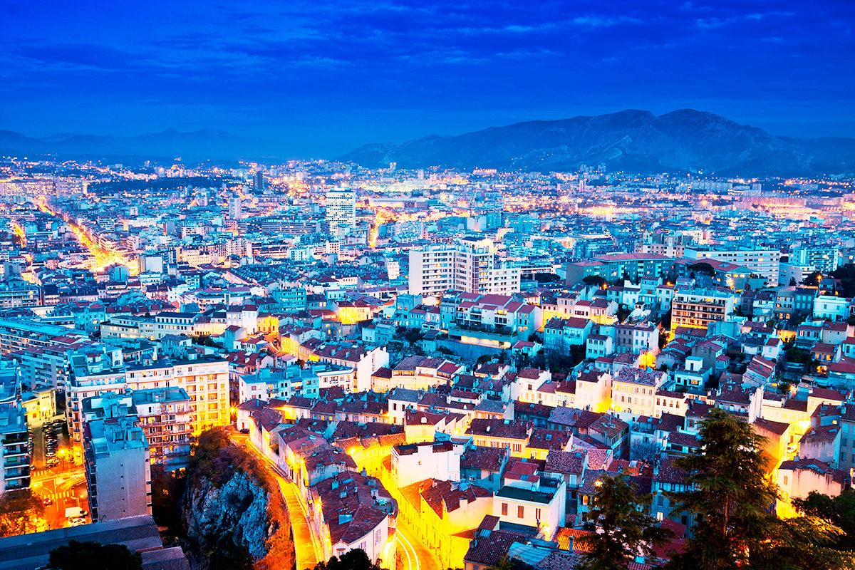 Сколько в Марселе вечерней красоты