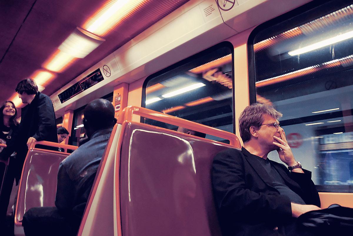 В вагоне метро, Марсель