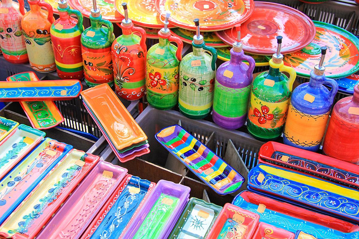 Раскрашенные вручную сувениры