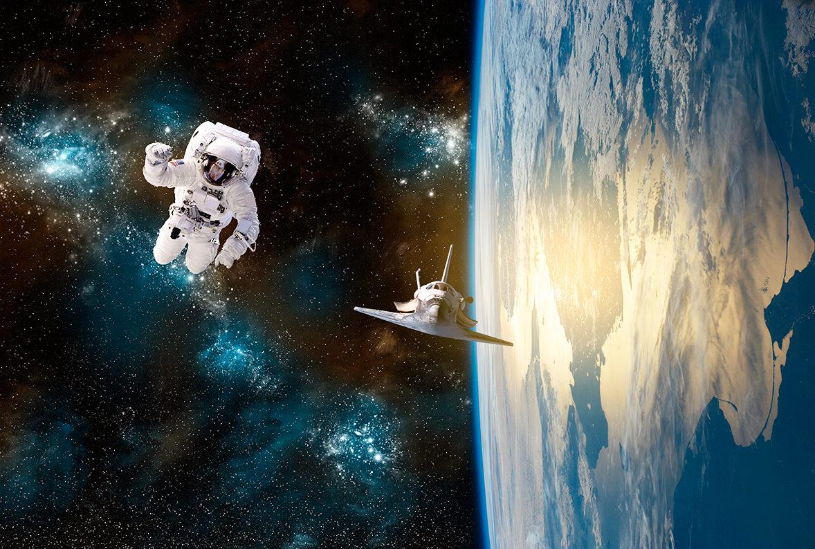 Почувствуй себя космонавтом!