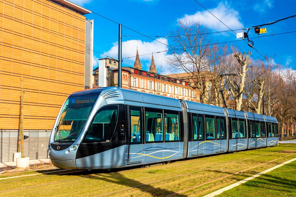 Трамвай в Тулузе