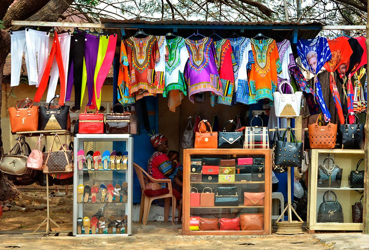 Рынок в Гане