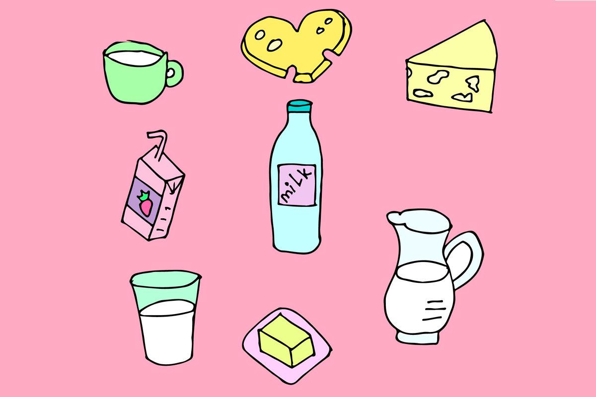 Запрет на ввоз молока и молочных продуктов