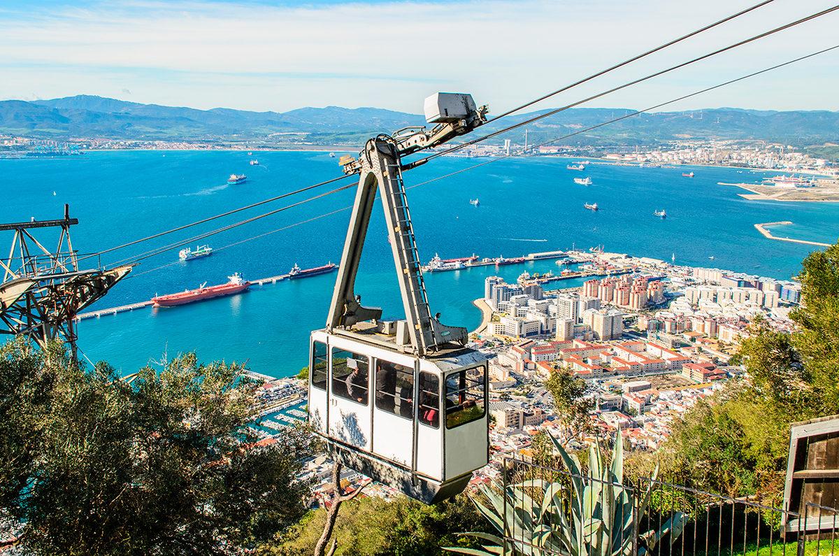 Канатная дорога, Гибралтар