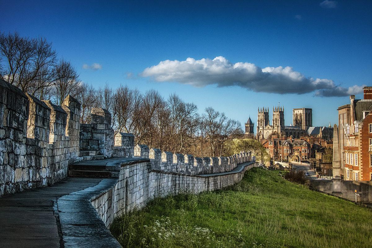 Крепостные стены Йорка