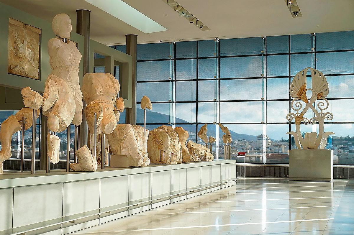 Новый Музей Акрополя, интерьер