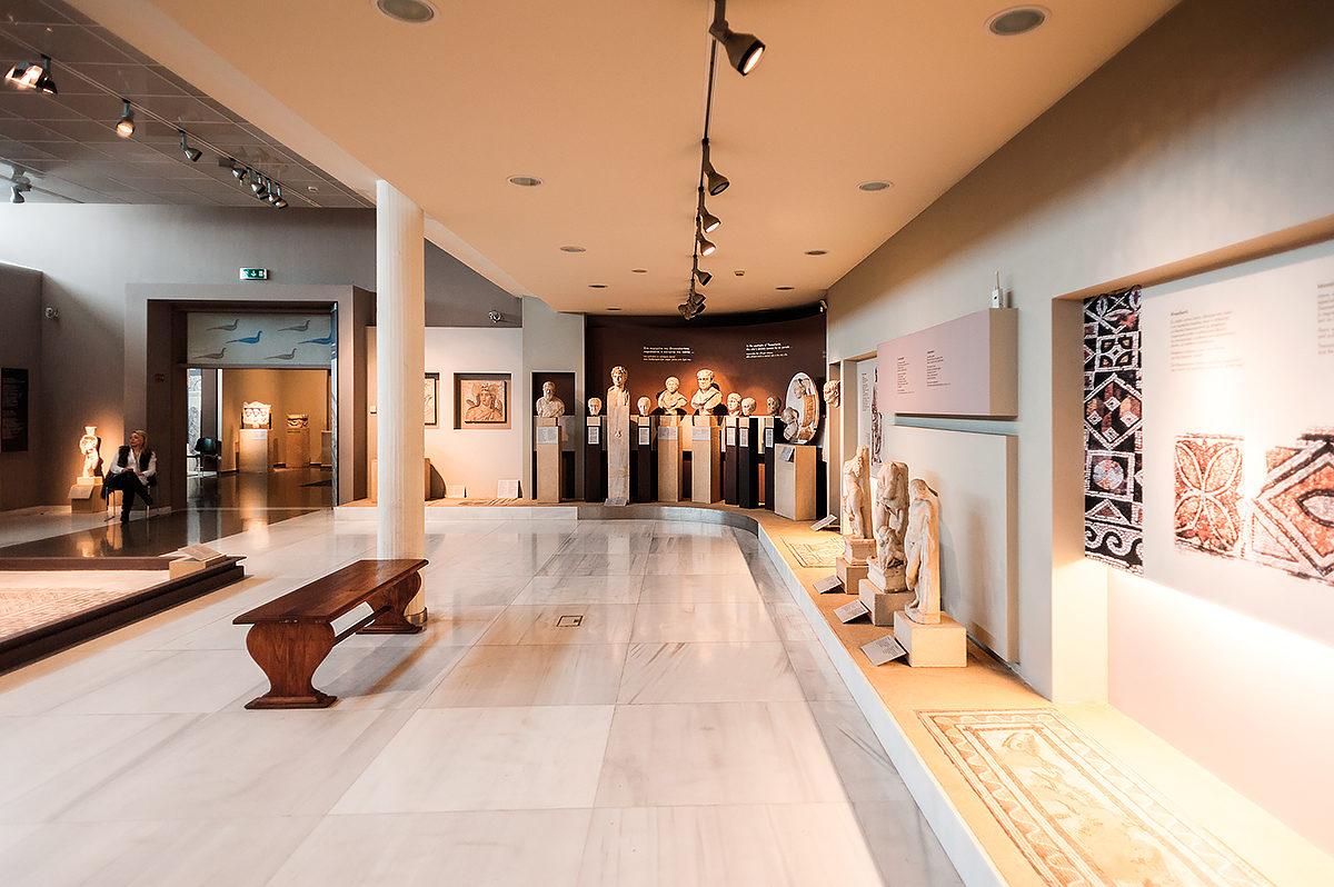 Археологический Музей Салоник, интерьер