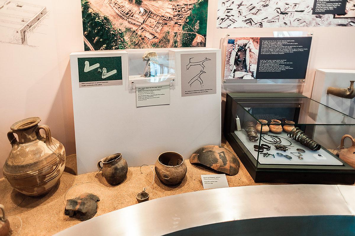 Артефакты Археологического музея Салоник