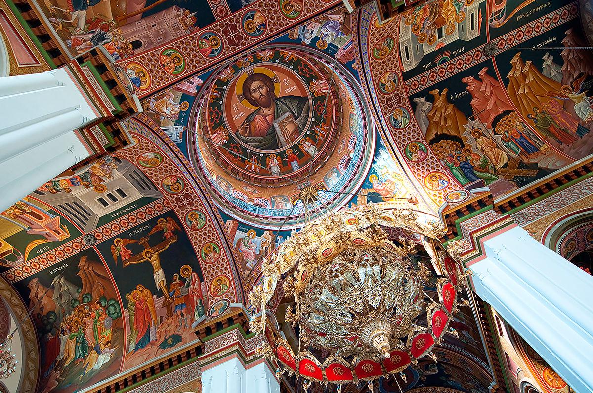Купольная роспись, Собор Св. Мины