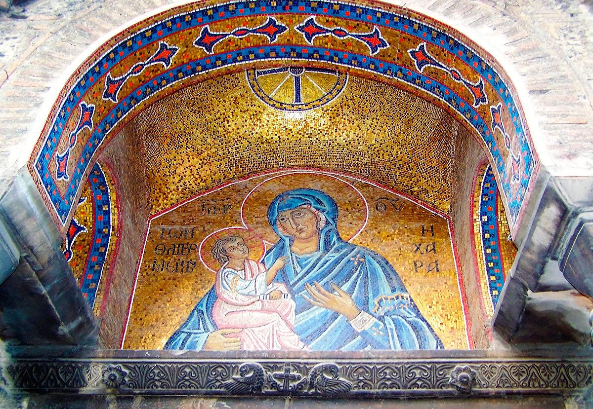 Золотая мозайка, Церковь Богородицы Капникареи