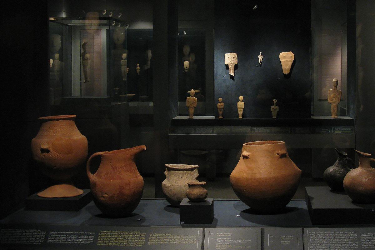 Музей Кикладского Искусства, экспонаты