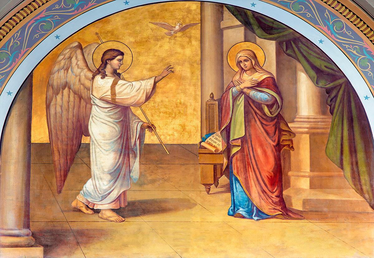 Фреска, Собор Благовещения Пресвятой Богородицы
