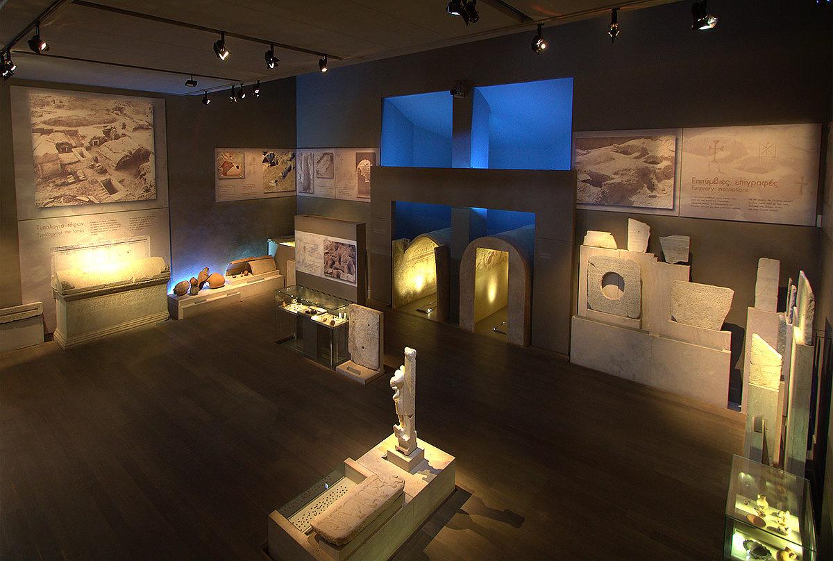 Музей Византийской Культуры, интерьер