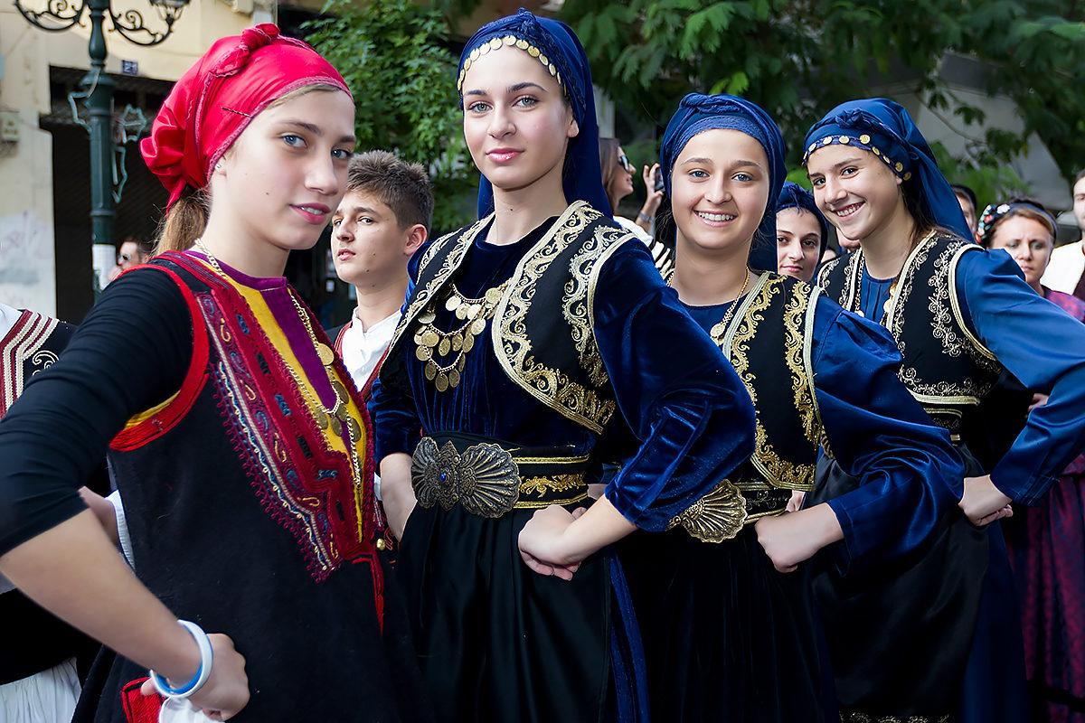 Греческий фолклор
