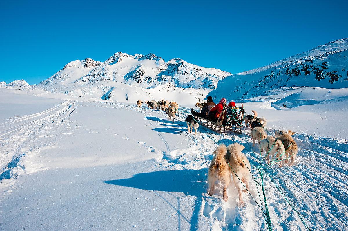 Интеллектуальный вид транспорта в Гренландии