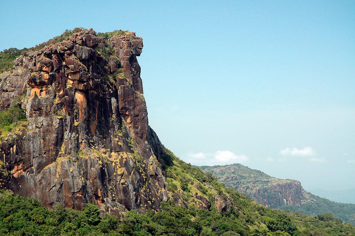 Горный массив Гвинеи