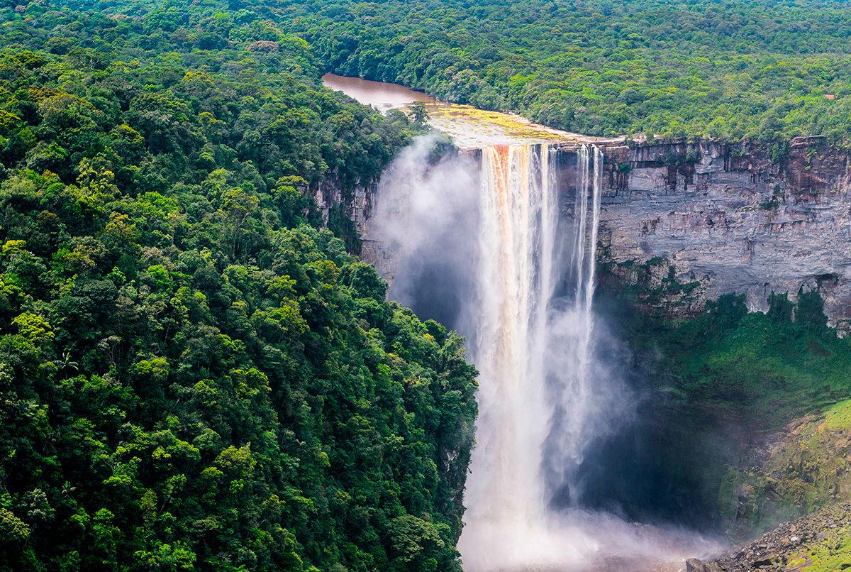Завораживающая природа Гайаны