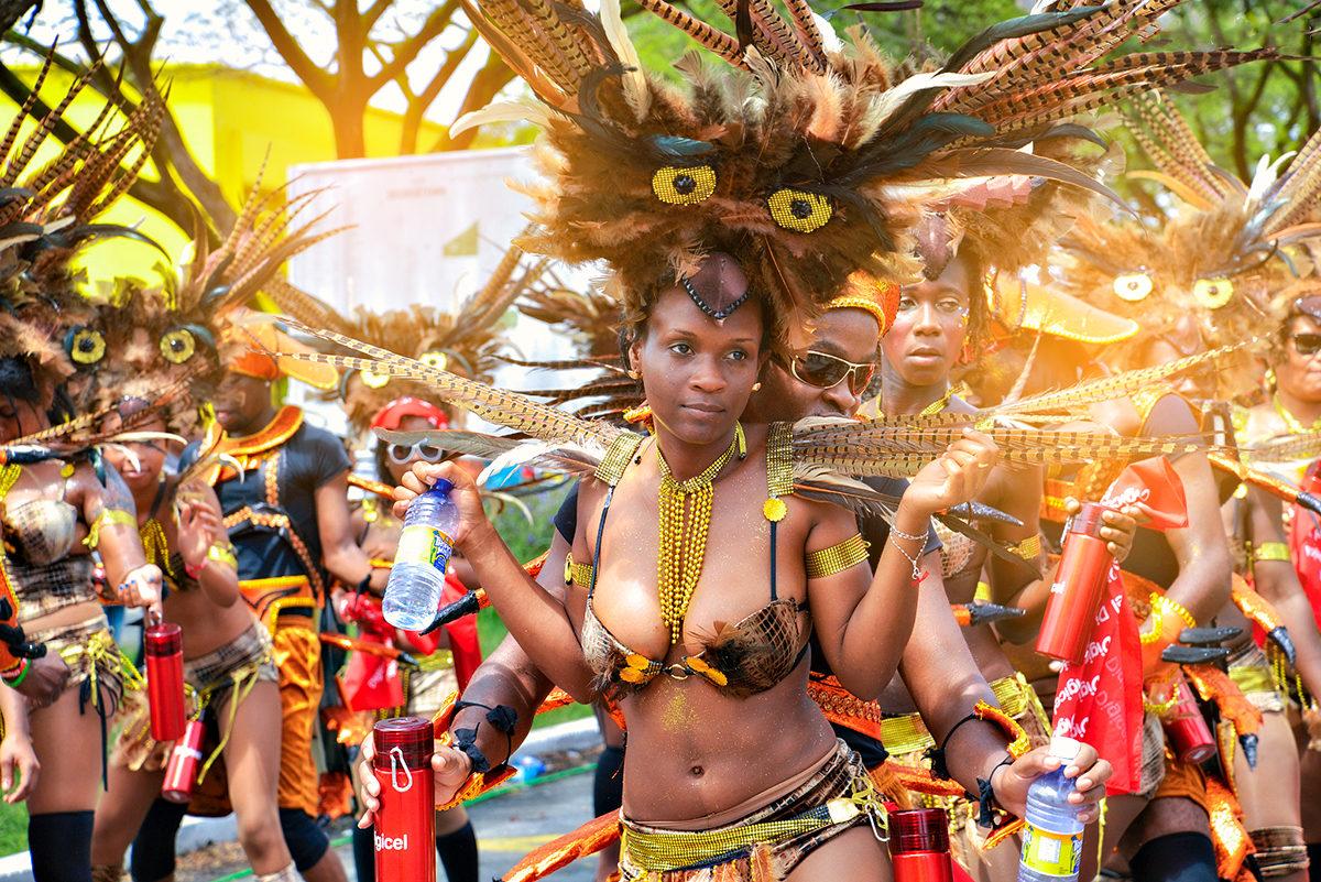 Артистичный народ, Гайана