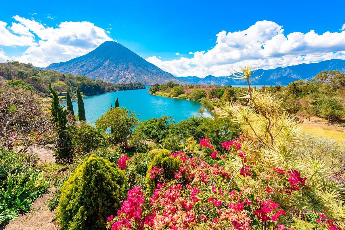 Гватемала, пейзаж