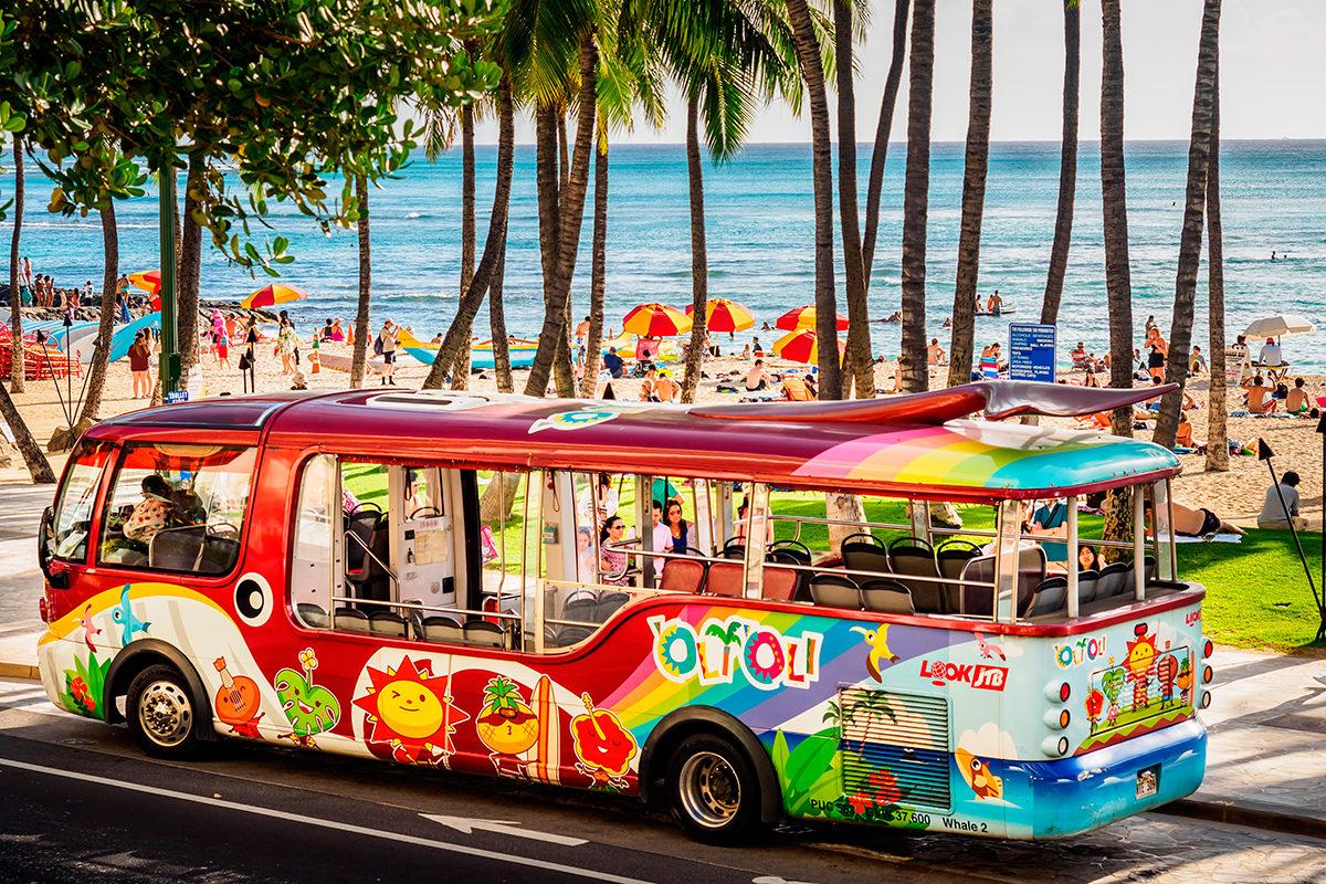 Гавайский автобус