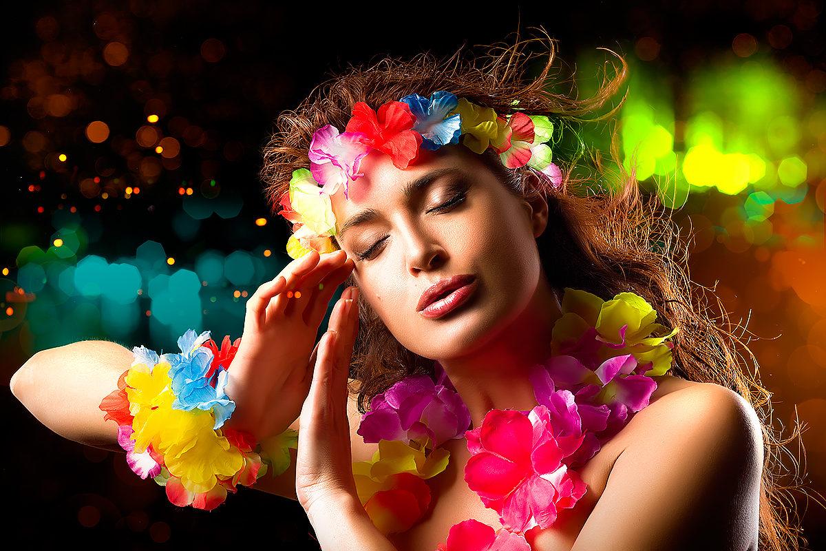 Венок из цветов, Гавайи