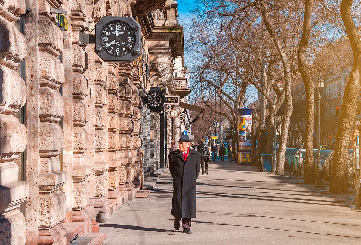 Неспешная прогулка по Проспекту Андраши, Будапешт