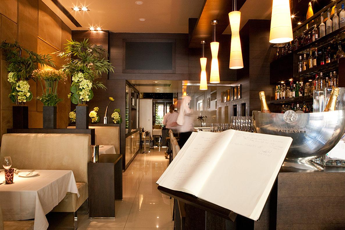 Интерьер одного из ресторанов в Будапеште