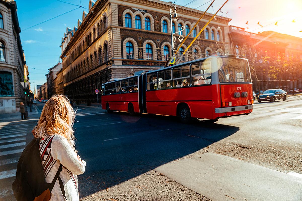 Троллейбус, Будапешт