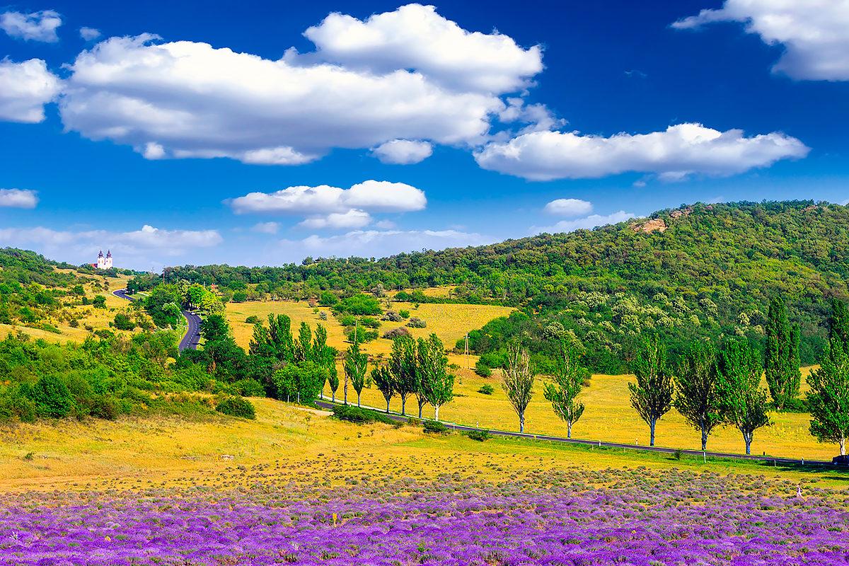 Пейзаж Венгрии