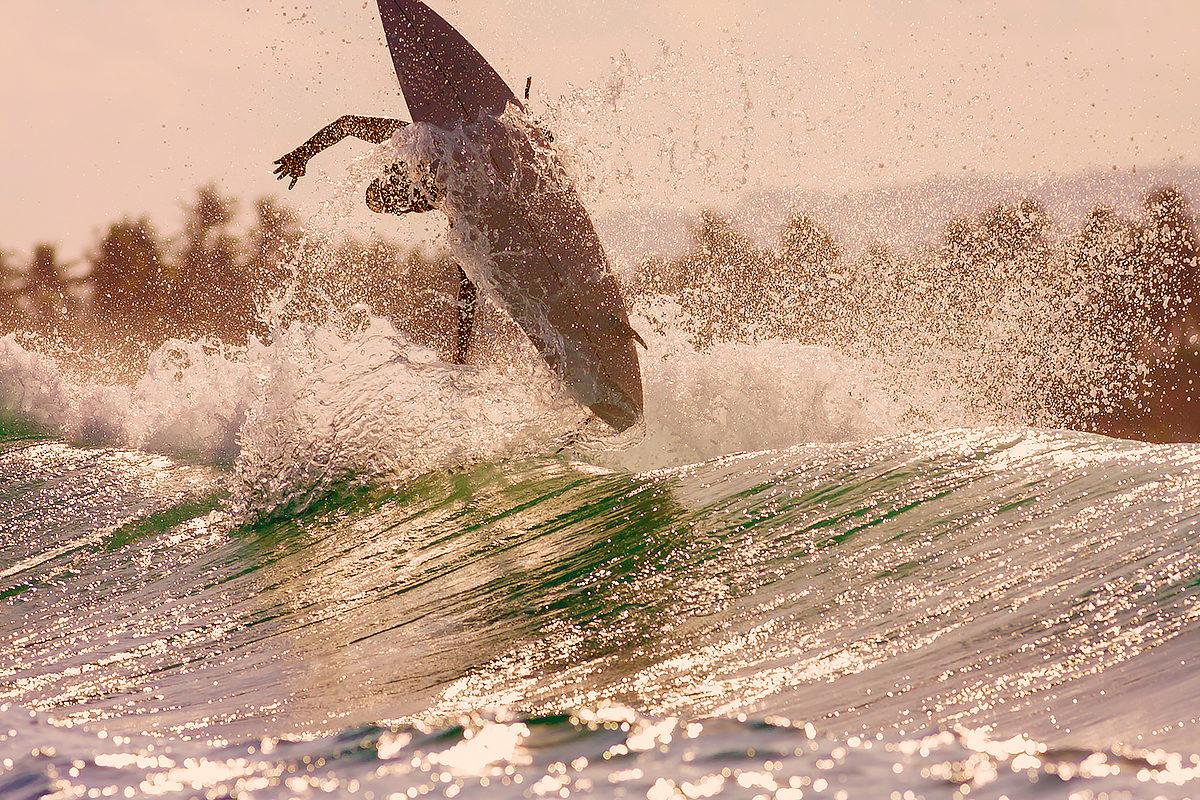 Рай для серфингистов