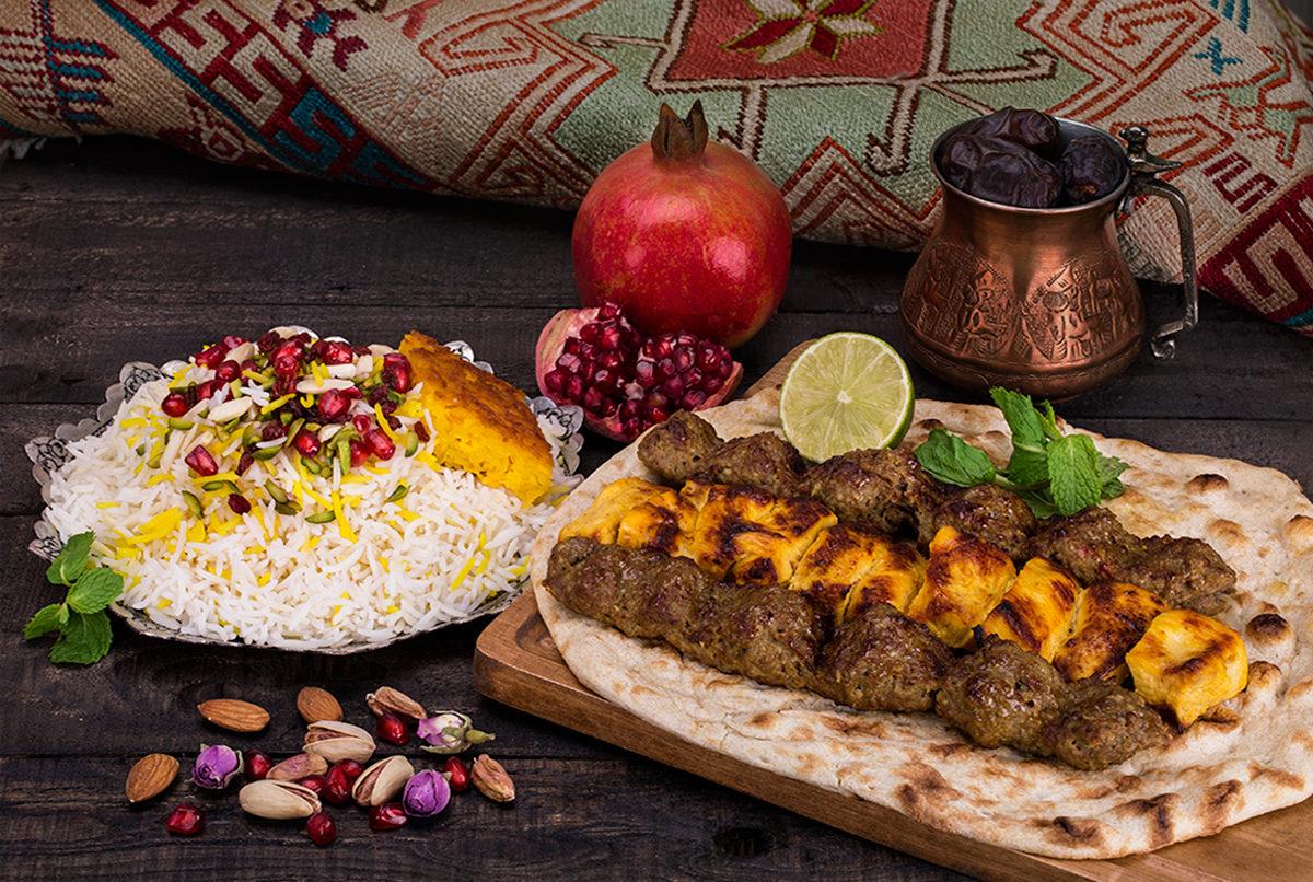 Кебаб с рисом на гарнир